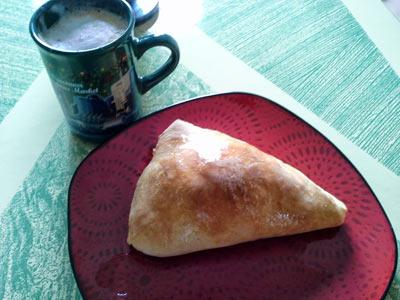 Breakfast Calzone, Breakfast Pasty