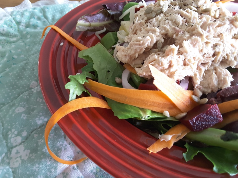 Loaded Tuna Salad - Summer Dishes Salads