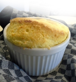 Cheese Souffle Courtesy Alton Brown