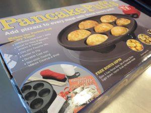 Pancake Puffs Pan As Seen on TV