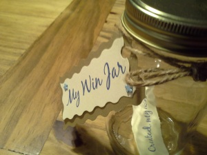 A Win Jar - Positivity - New Year - Goals - Resolutions