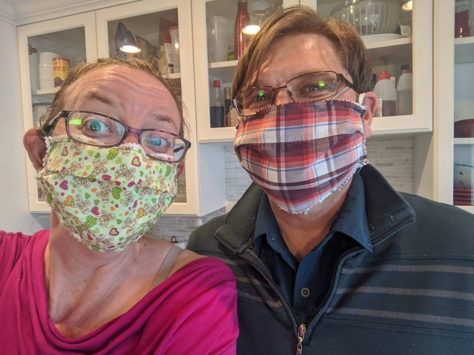 Making Fabric Face Masks to Curb COVID-19