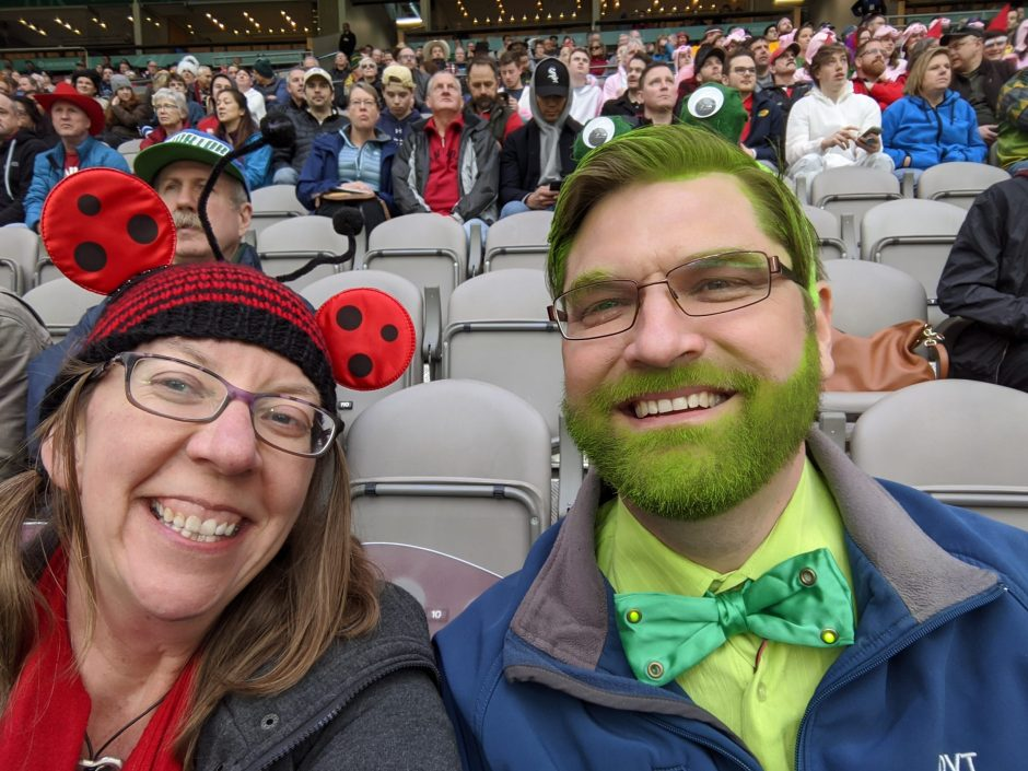 Lady Bug and Frog at 2020 CanadaSevens