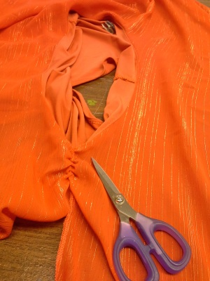 Tackling My Fears of Cutting Clothes
