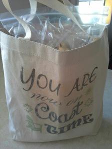 DIY Guest Tote Bags