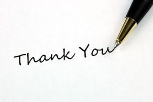 Gratitude Thank You Letter Christmas