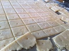 Homemade Vegan Cheez-It Crackers