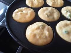 Cornbread Hush Puppy - Pancake Puffs