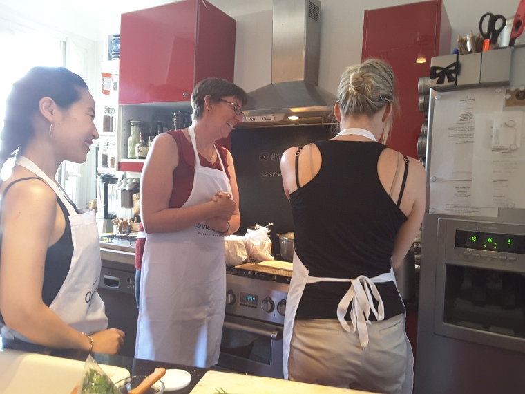 Making Butter - Jambon Beurre Sandwiches - Paris - Anne is Cooking